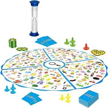 Toyvian 1 Juego Pequeño Detective Mapa Juegos de Mesa para niños ...