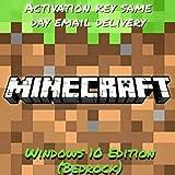 Minecraft Windows 10 Edition Product Key (Digital code - No CD/DVD)