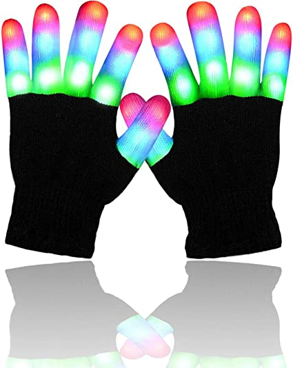 Best Gifts ATOPDREAM LED Flashing Finger Lighting Gloves for Kids