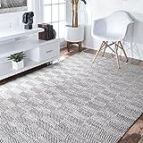 Handmade Fancy Trellis Wool Rug