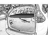 Cargo Security Rear Trunk Cover Retractable For 12-16 Honda Crv Cargo Cover Black by Kaungka