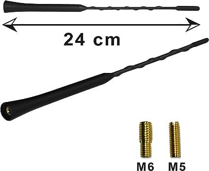 AUDI antenne kurzstab antenne 16v Antennenstab 18cm