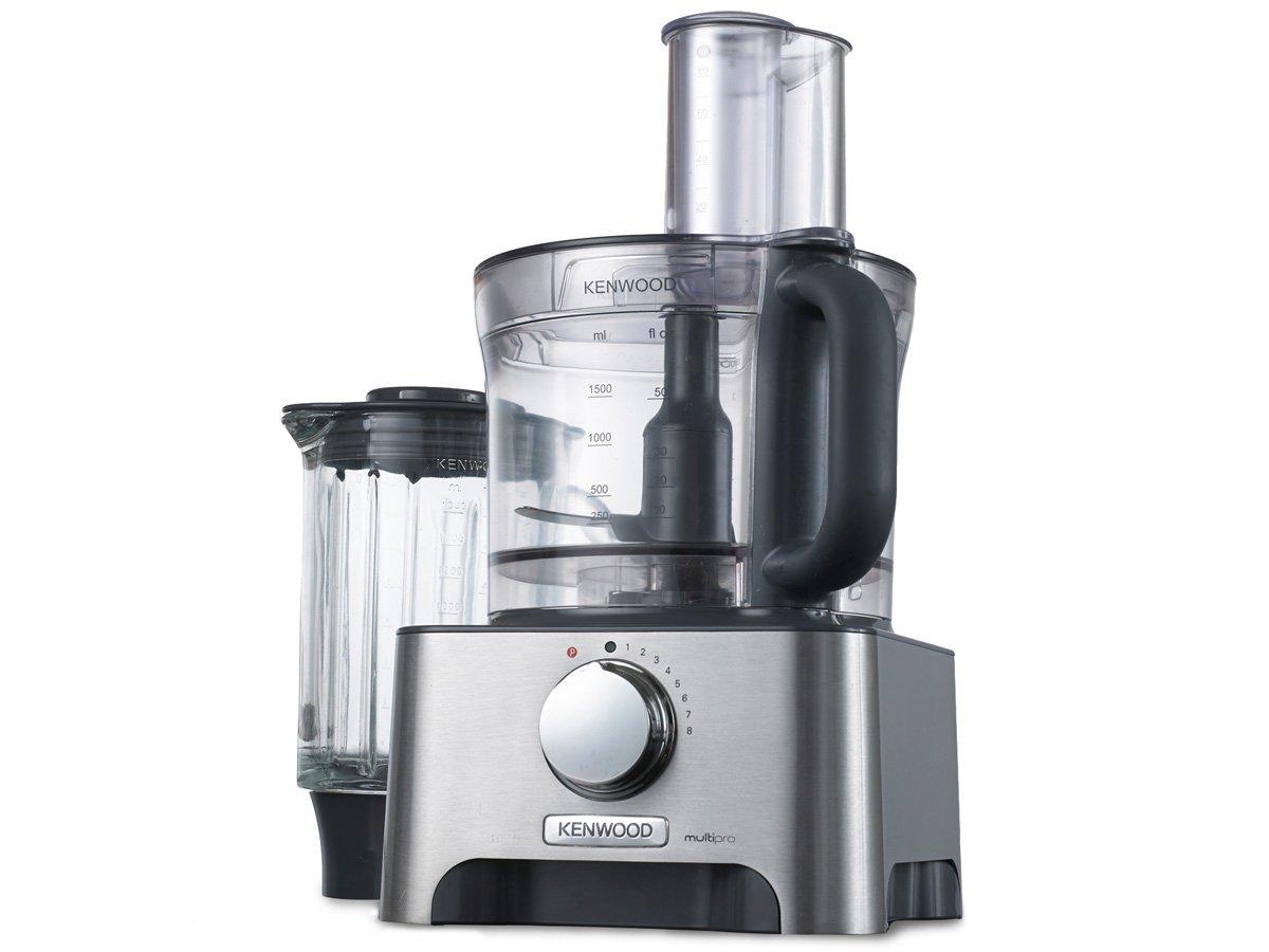Kenwood FDM791 1000W 3L Plata - Robot de cocina (3 L, Plata, Giratorio, De plástico, Aluminio, 1000 W): Amazon.es: Hogar