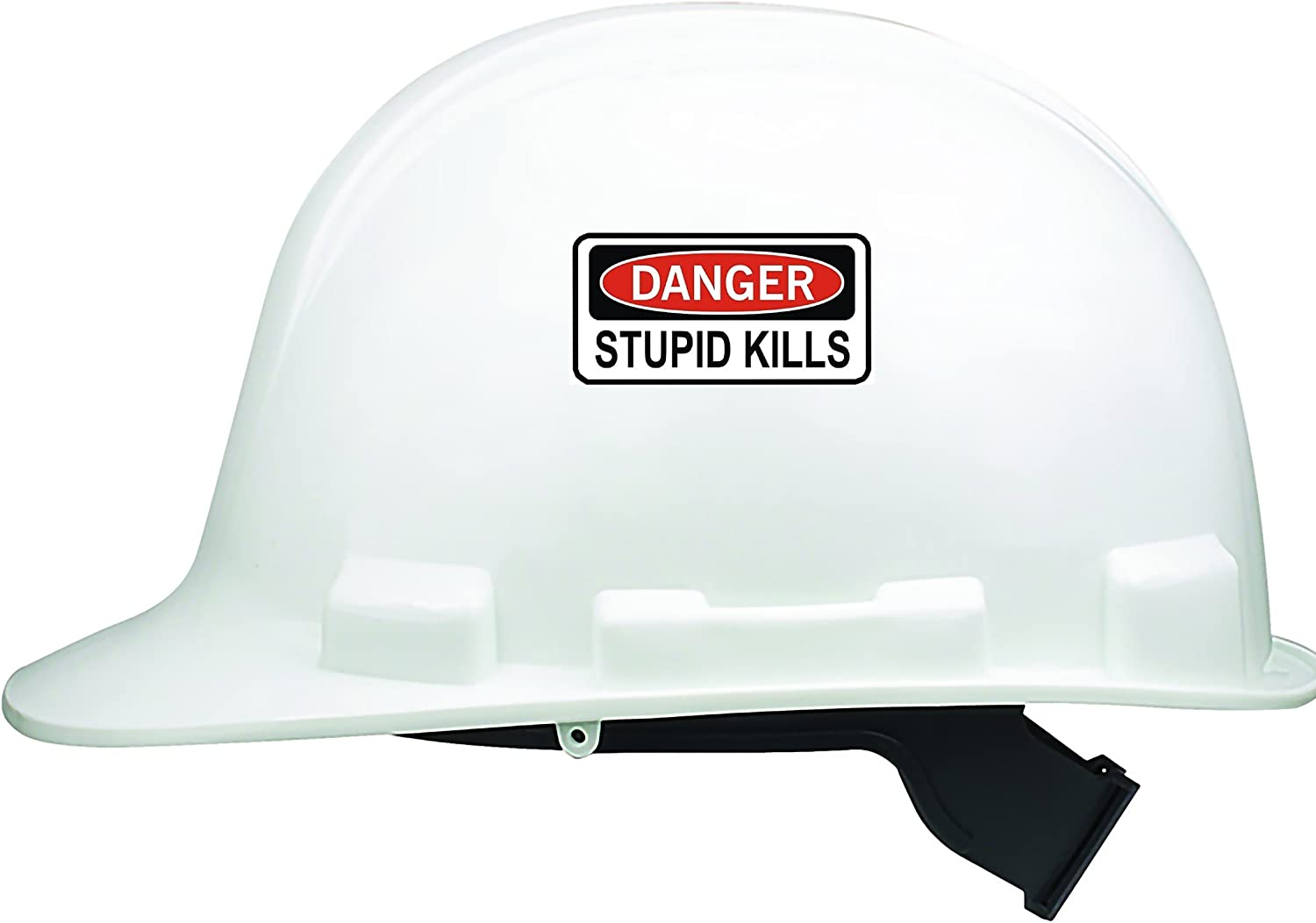 Balls To The Wall Hard Hat Sticker Decal Label Danger Motorcycle Helmet Funny
