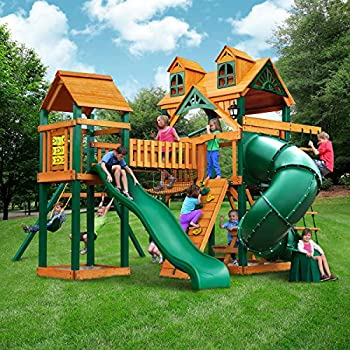 Amazon Com Gorilla Playsets Wilderness Gym Playset Toys