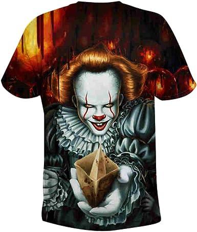 Pennywise Mens slippers t shirt hoodie custom art clown it horror name king