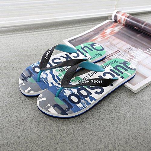 DMXY-masculine estivale des chaussons chaussons,bleu,44