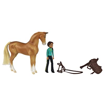 Breyer Spirit Riding Free-Chica Linda and PRU Small Horse Doll Toy Set: Spirit: Toys & Games