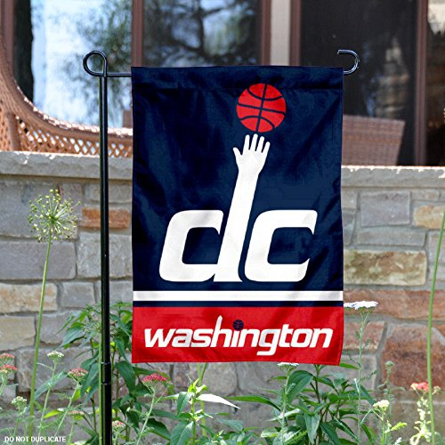 Washington Wizards Double Sided Garden - Flag Washington Wizards