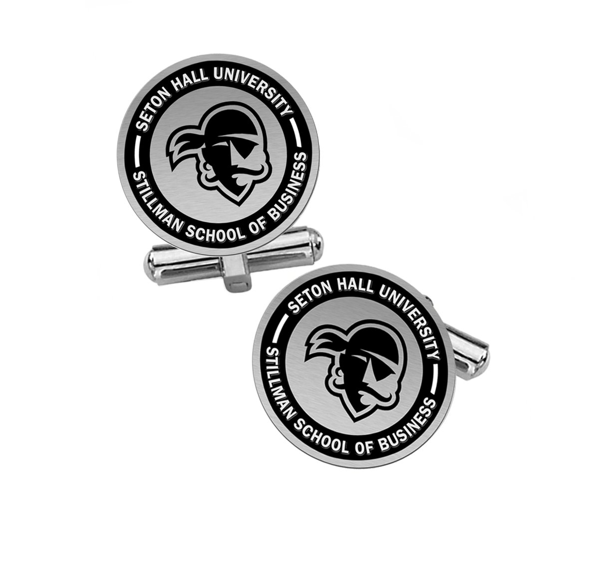 Stillman School of Business Cufflinks | Seton Hall University by College Jewelry