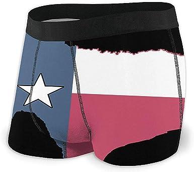 Web--ster Mapa de la Bandera de Texas Calzoncillos Boxer Negros ...