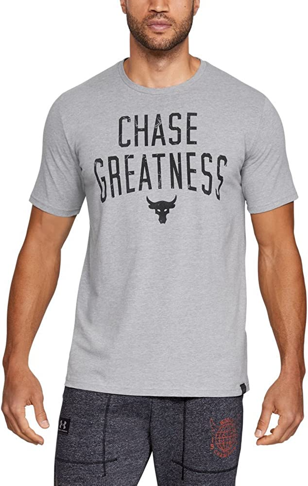Under Armour Project Rock Chase Greatness Training T-Shirt