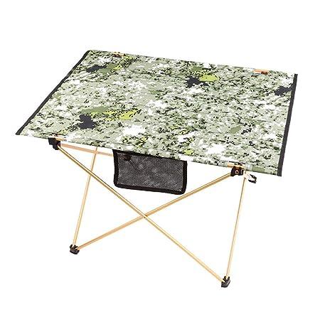 NewbieBoom®-Lapdesks Mesa Plegable de Camuflaje Mesa de Picnic ...