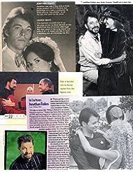 Jonathan Frakes original clipping magazine photo lot #S6785