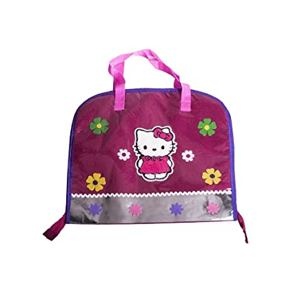 ad2468e1372 Buy Li ll Pumpkins Pink Hello Kitty Drawing Bag Online at Low Prices in  India - Amazon.in