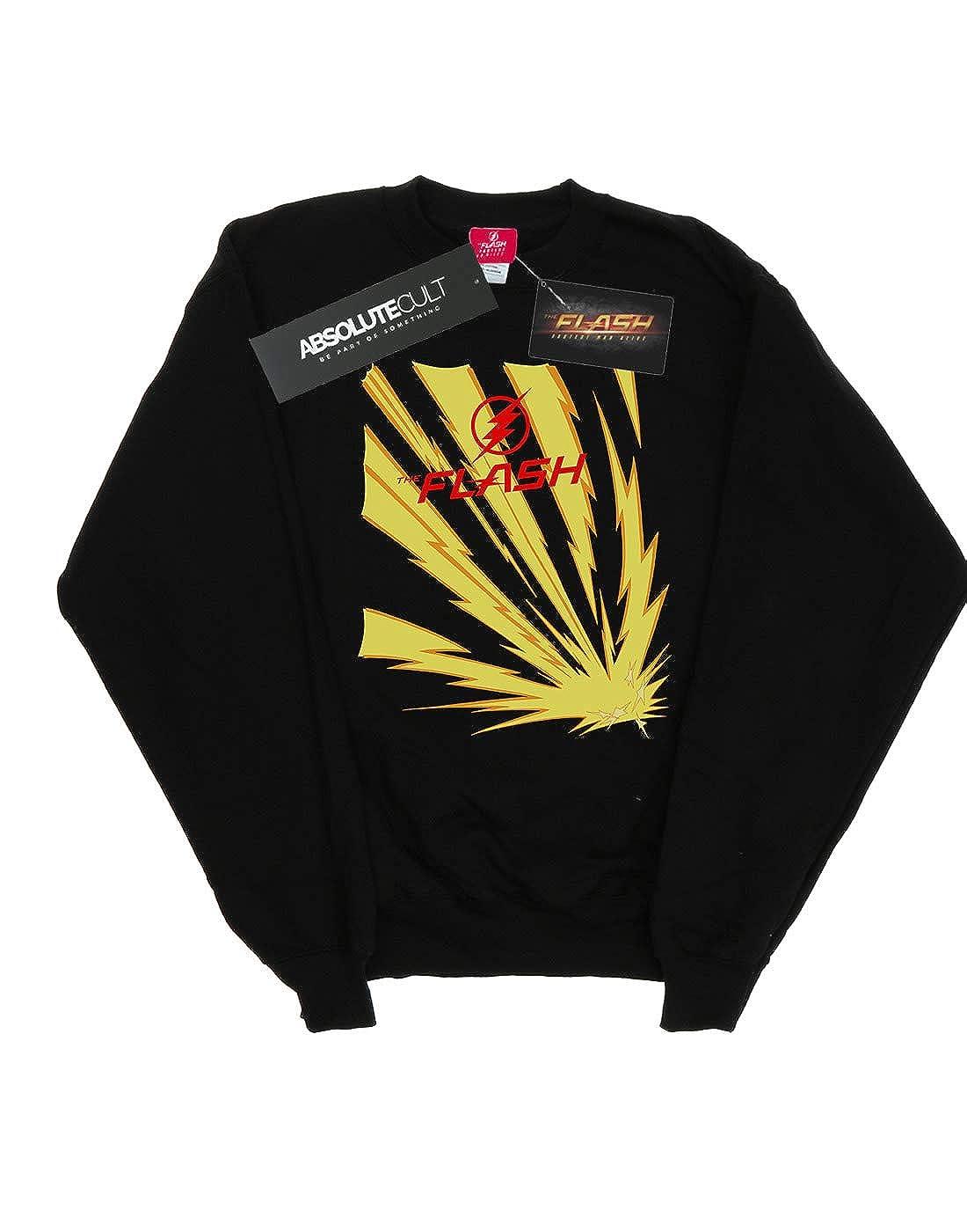 DC Comics Girls The Flash Lightning Bolts Sweatshirt