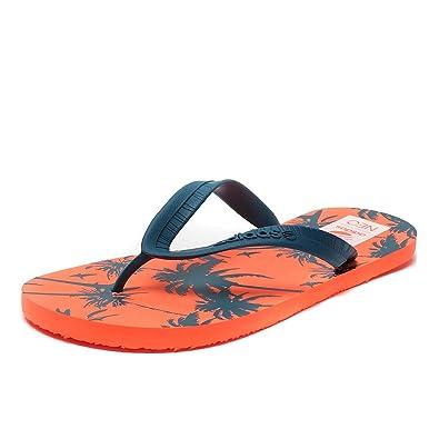 5e259af368fc adidas Neo Men s Flipper Flop Flops - Orange - 10UK  Amazon.co.uk ...