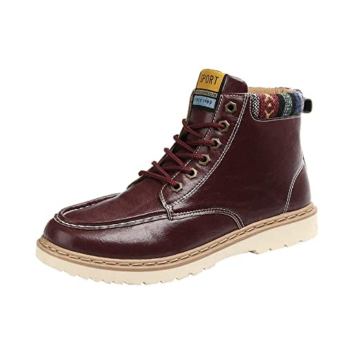 Oyedens Uomo Stivali Sportive Scarpe da Corsa Sneakers Autunno Inverno  Caldo Ispessimento Antiscivolo Outdoor Regalo Boots bff0d72aa7e