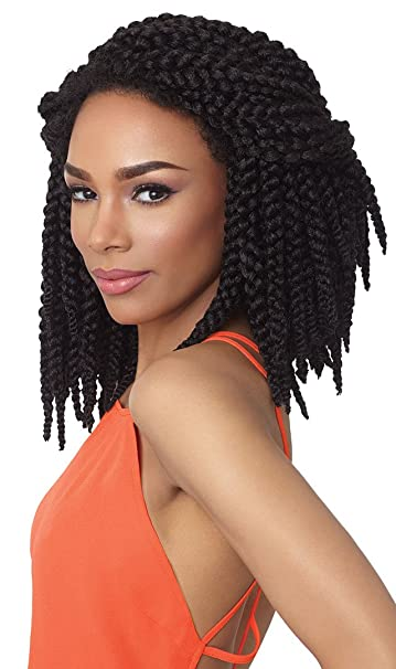 Amazoncom Outre Synthetic Hair Crochet Braids X Pression 3d Braid