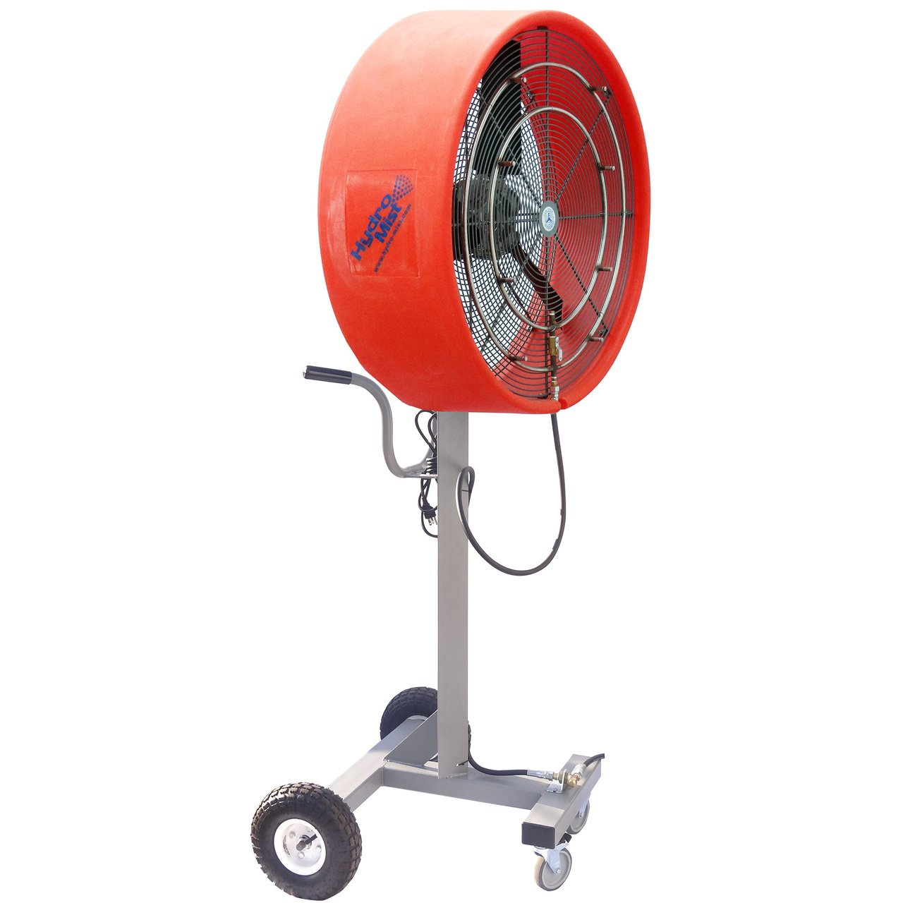 HydroMist HMI-3000-8S 30'' Extreme Portable Satellite Unit, Orange, 8 Nozzles, 110V, 15 Amp