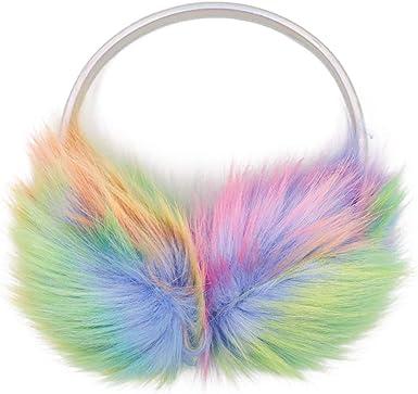 Women's Winter Warm Fluffy Ear Muffs Cute Faux Fur Earmuff for Girls Mom Daughter Outdoor Ear Warmers