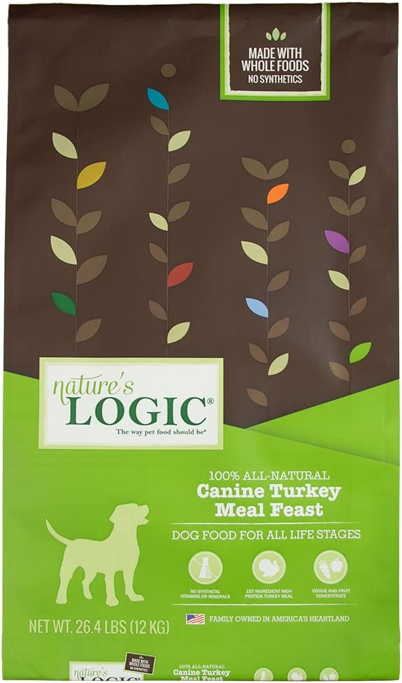 Nature'S Logic Dog Food Canine Meal Feast, Turkey