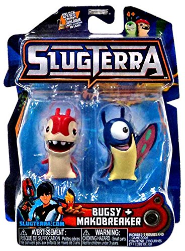 Slugterra Series 5 Bugsy & Makobreaker Mini Figure (Critter Blaster)
