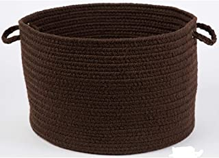 product image for Rhody Rug Madeira 12 x 18-inch Braided Basket Brown