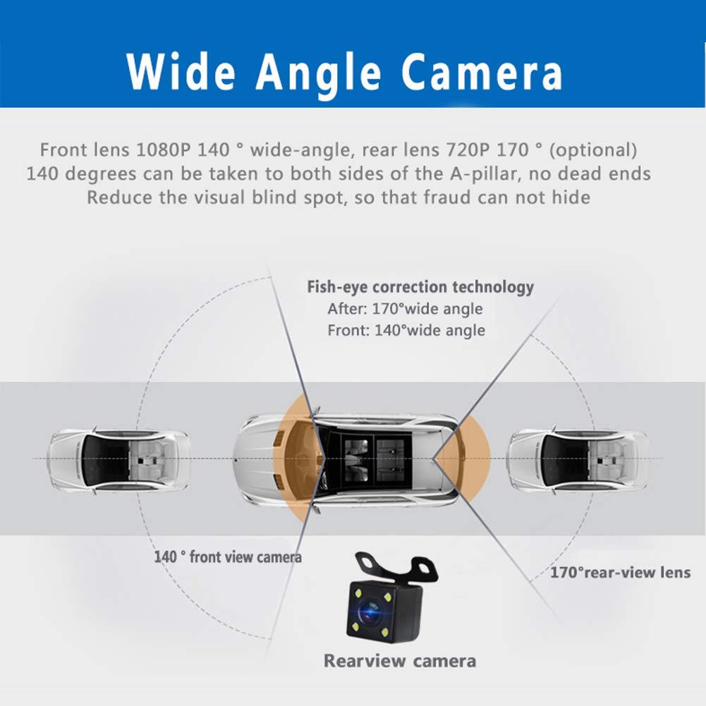 USB nascosto Telecamera DVR da auto 1080P monitor grandangolare per visione notturna 170 gradi videoregistratore WIFI