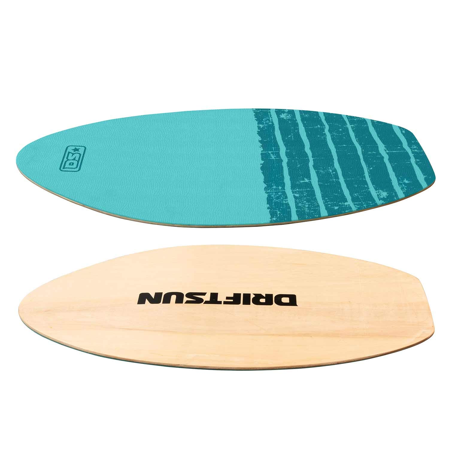 Ideal for All Skill Levels Driftsun 30-40 Inch Wood Skim Board with XPE Traction Pad Lightweight and Durable