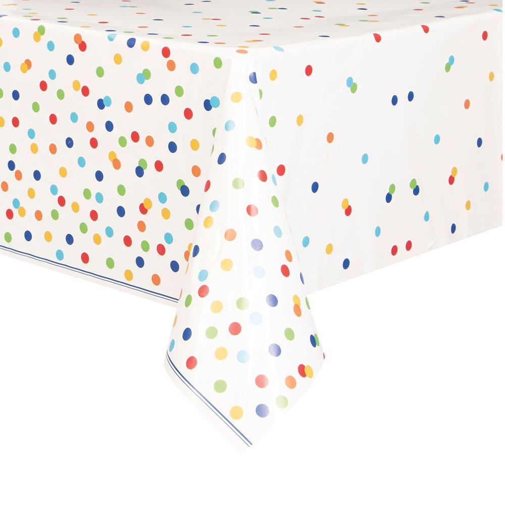 Rainbow Mini Polka Dot Beverage Napkins, 16ct Unique Industries 58251