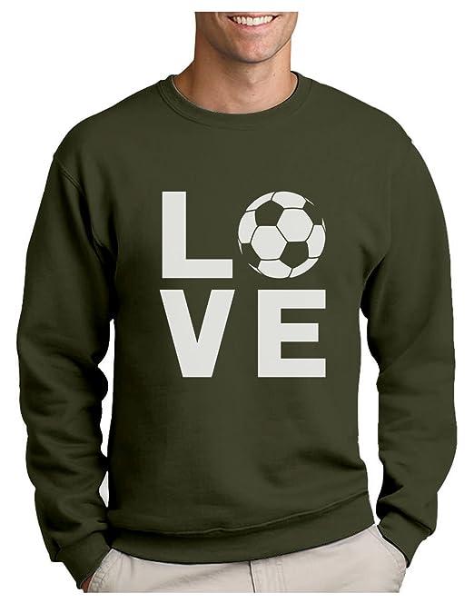 Green Turtle T-Shirts Sudadera para Hombre - - Love Soccer - Regalo Original para los Amantes del fútbol y futbolistas: Amazon.es: Ropa y accesorios