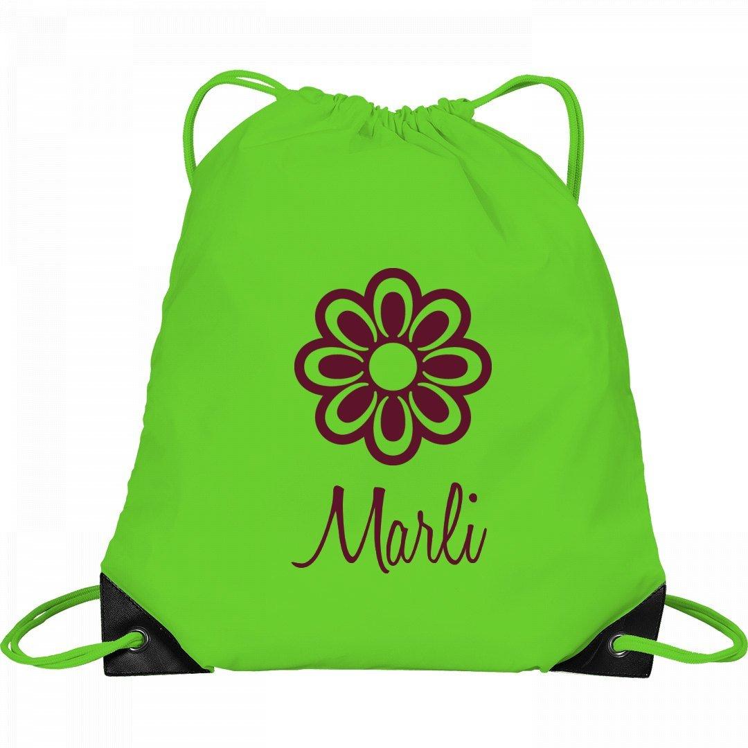 Flower Child Marli: Port & Company Drawstring Bag