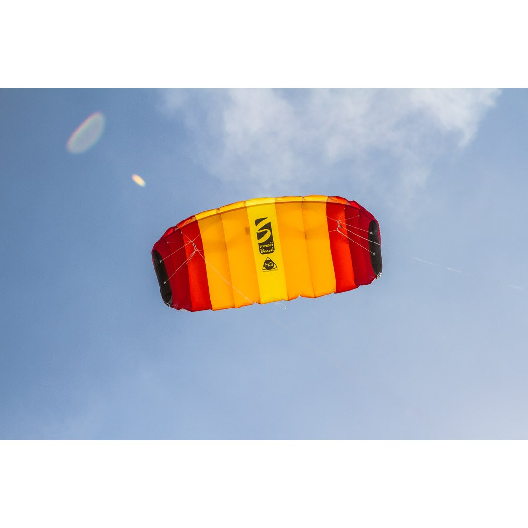 Line Sport Kite Active Outdoor Fun for Ages 12 Years and Older HQ Kites Toys 11768252 Color: Mango HQ Kites Symphony Beach III 1.8 Stunt Kite   71 Inch Dual