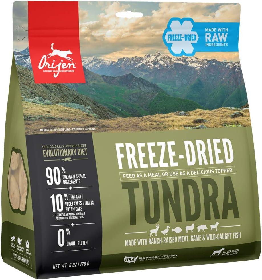 Orijen Freeze-Dried Dog Food, Original, Biologically Appropriate & Grain Free