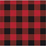 Buffalo Plaid Beverage Napkins, 48 ct