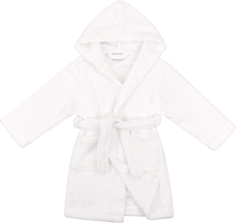 Simplicity Childrens Hooded Robe w// Animal Print Bath Accessory