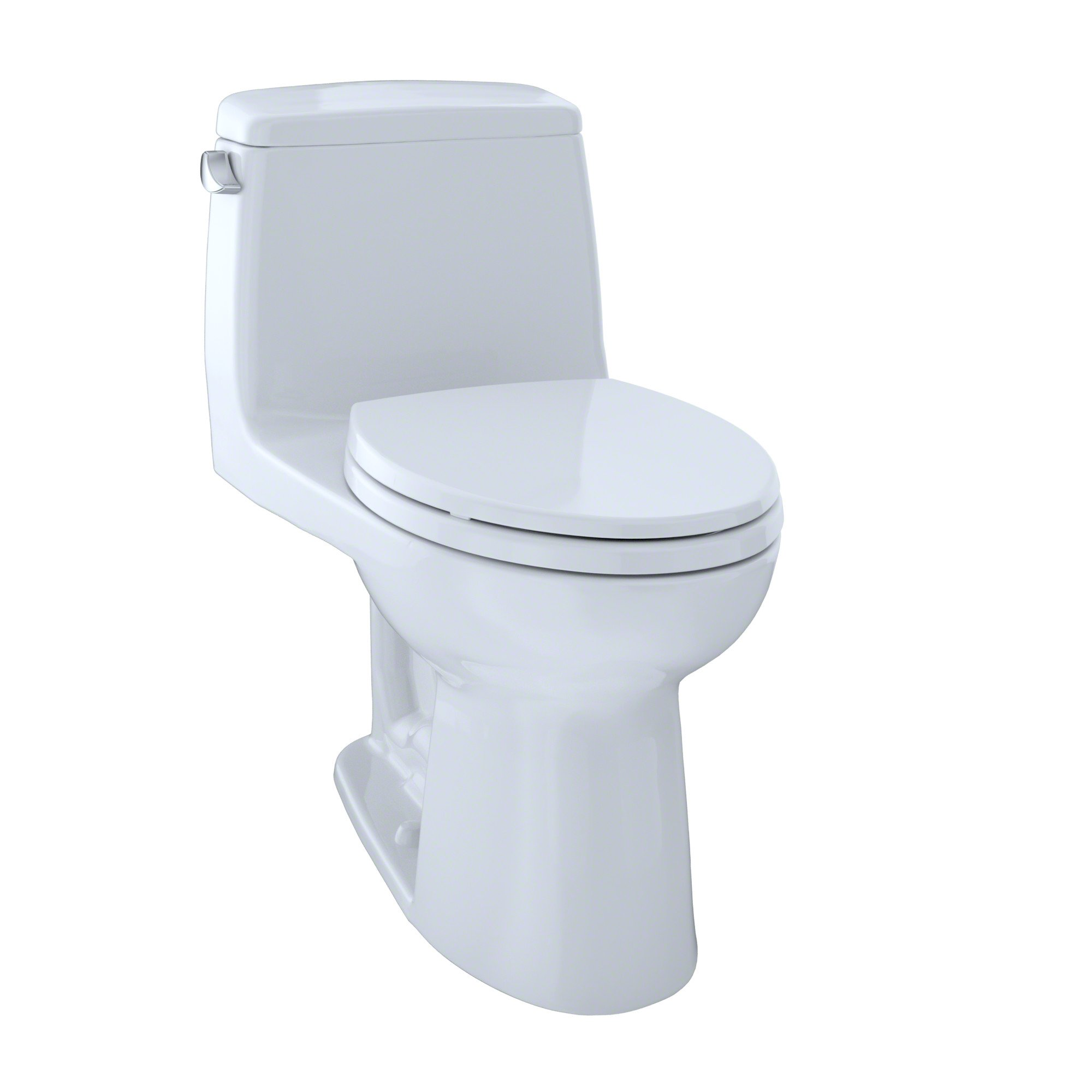 TOTO MS854114S#01 Ultramax Elongated One Piece Toilet, Cotton White by TOTO