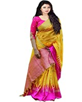 Sarees for Women Latest Design Sarees New Collection 2018 Sarees below 1000 Rupees 500 Rupees Sarees for Women Partywear Latest Design Wedding Collection Sarees for Women below 500 Latest sarees for Women Party wear Offer Designer Sarees Saree Combo Sarees New Collection Today Low Price Women's Silk Saree With Blouse Piece (Orange)