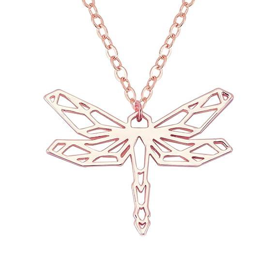 Amazon.com: SENFAI - Collar con colgante geométrico de ...
