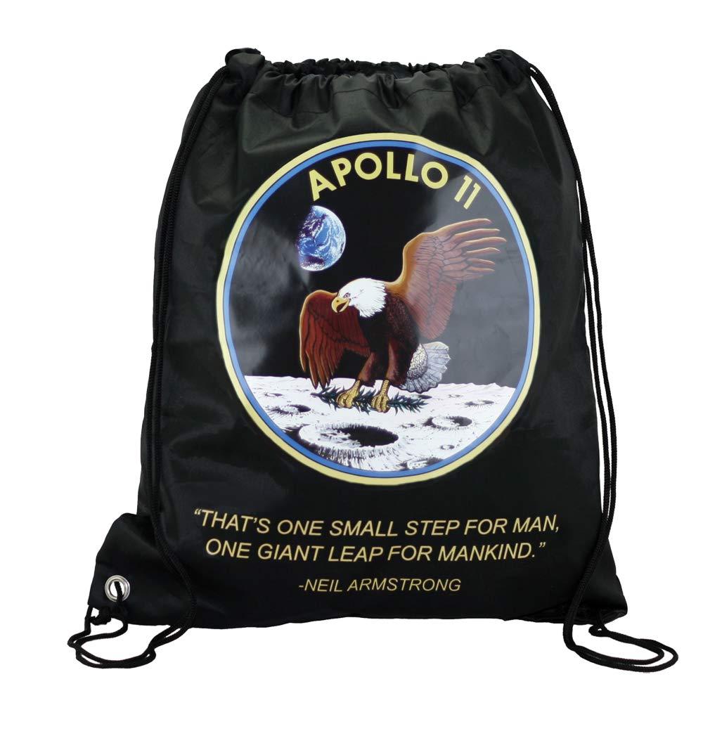 HFTIDBC Apollo 11 ミッションポンピングロープ バックパック シンチサック B07MXSJXWD