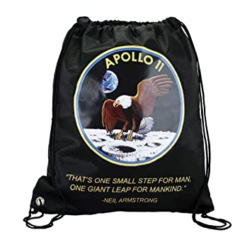 Amazon.com: Apollo 11 Mission Logo - Mochila con cordón para ...