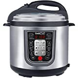 GeekChef YBW60PB YBW60P 6QT Premium 11-in-1 Programmable Multi Pressure Cooker, 6 qt, Silver