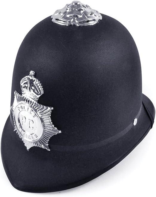 Police Helmet. Hard plastic (gorro/sombrero): Amazon.es: Juguetes y juegos