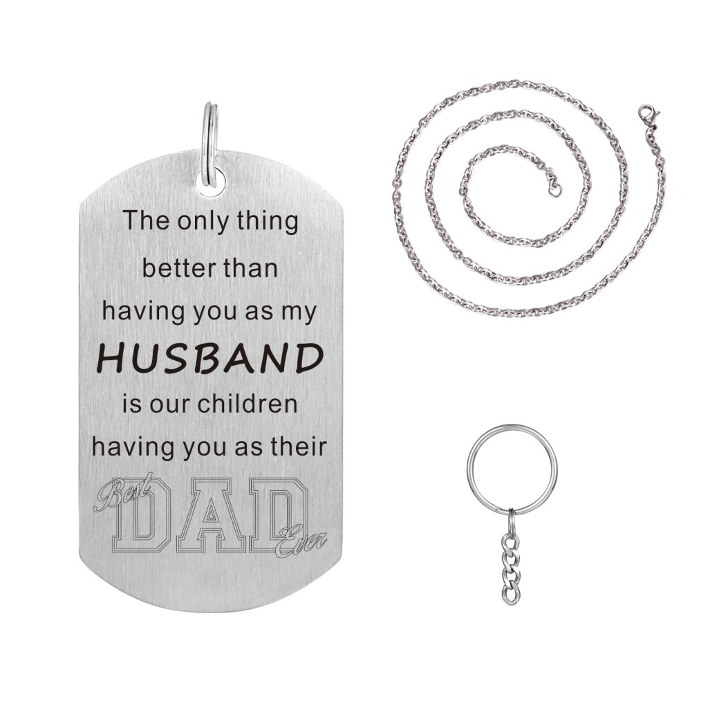 Freedom Love Gift The Only Thing Better Than Having You As My Husband Necklace Jewelry Gift by Freedom Love Gift (Image #2)