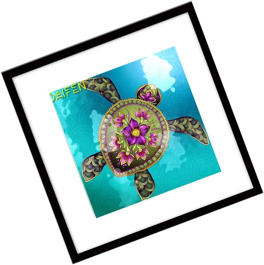 Rekkles Sin Marco DIY el Diamante Lleno Piture Diamantes de imitación Mar del patrón de la Criatura Cuadro colgado decoración