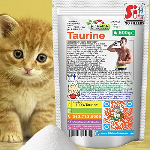 500g (1.1lb), 100% Pure Taurine Powder - Free Shipping