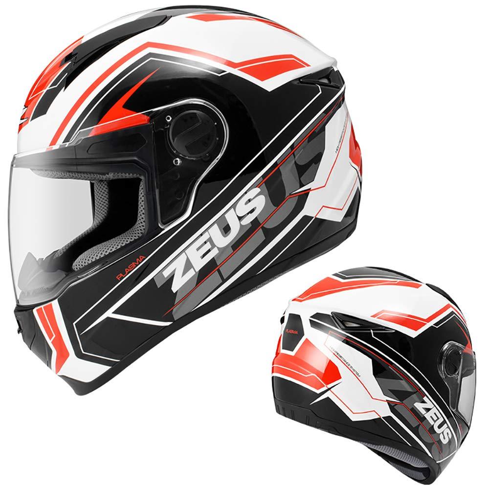 ZEUS ヘルメット DOT认证 台湾正品保証 安全帽 フルフェイス バイクヘルメット バイク用 男女通用 運動用品 安全帽 四季可能 PSCマーク付き (商品ー2, XL) B07GRM389K XL|商品ー2 商品ー2 XL