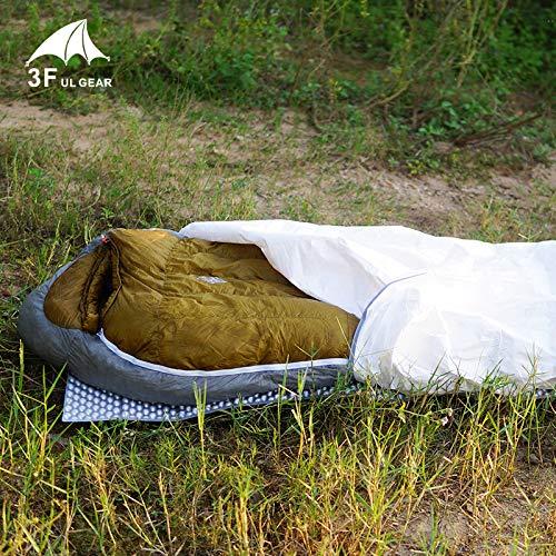 SeedWorld 寝袋 - 3f ul Gear タイベック 寝袋 カバー ライナー 防水 2層バッグ 18080cm 1個   B07KC1DR2N