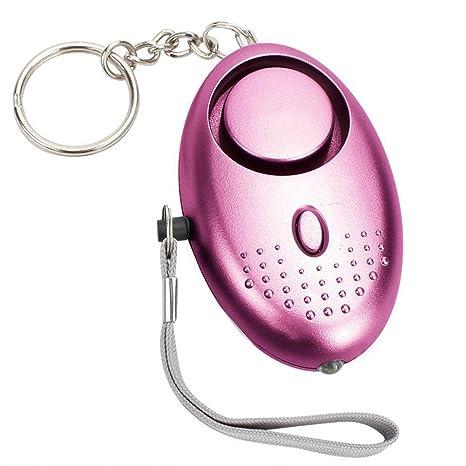 Espeedy Mini alarma personal con luz LED,Alarma personal con ...